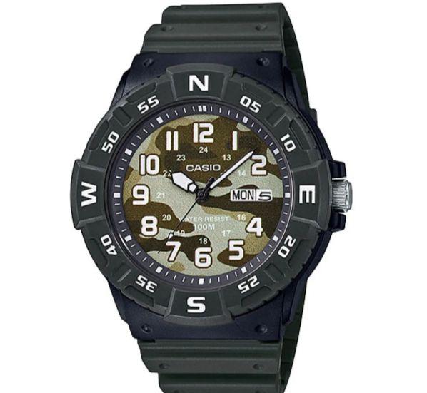 Relógio Casio Standard Masculino Camuflado Mrw-220hcm-3bvdf