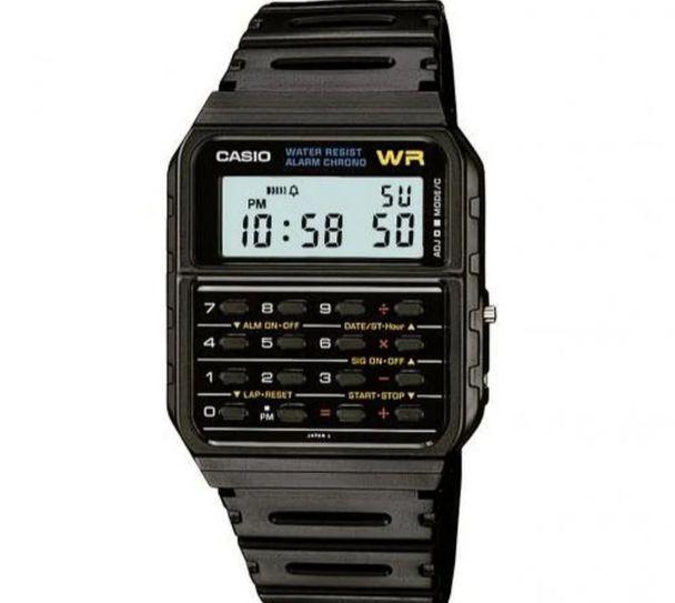 Relógio CASIO VINTAGE unissex digital CA-53W-1Z