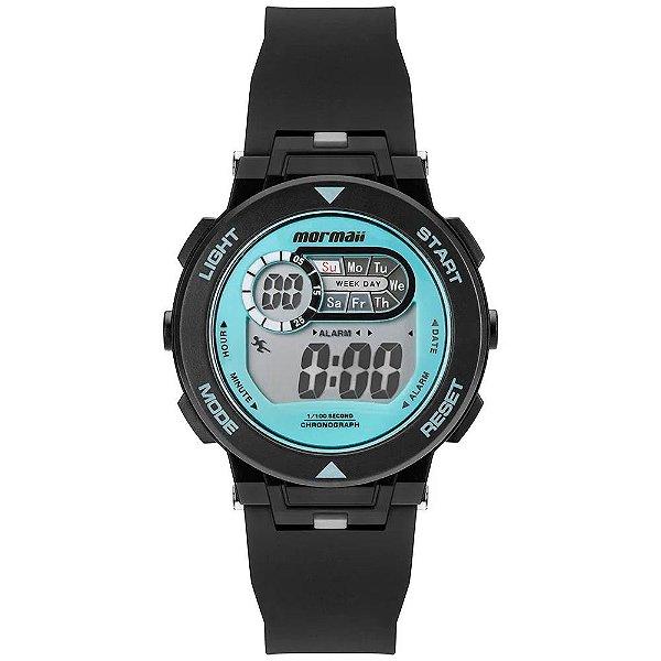 Relógio Digital Mormaii Nxt Infantil Preto MO0986A/8A