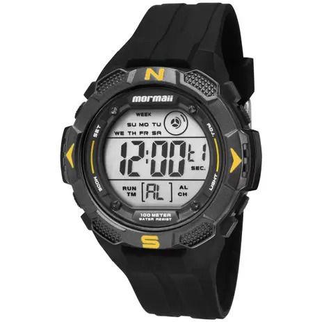 Relógio Mormaii Masculino Acqua Preto MO29088Y