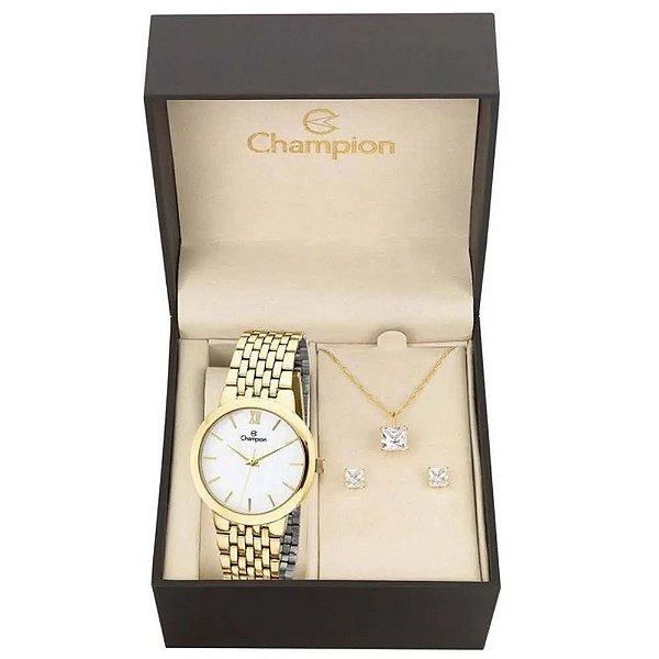 Kit Relógio Champion Analógico Ch22091w