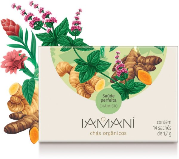 Chá Orgânico Saúde Perfeita (Imunidade) - Iamaní