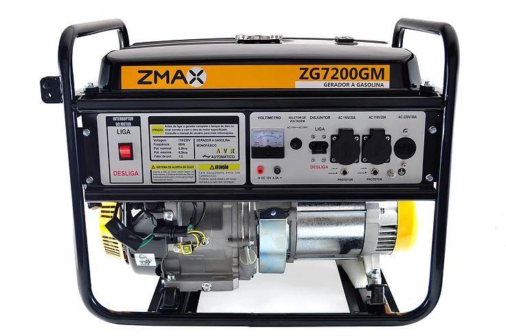 Gerador a Gasolina ZG7200GM ZMAX