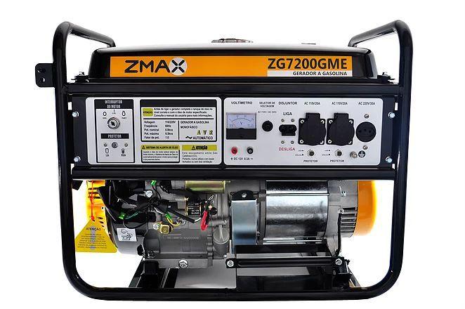 Gerador a Gasolina ZG7200GME ZMAX
