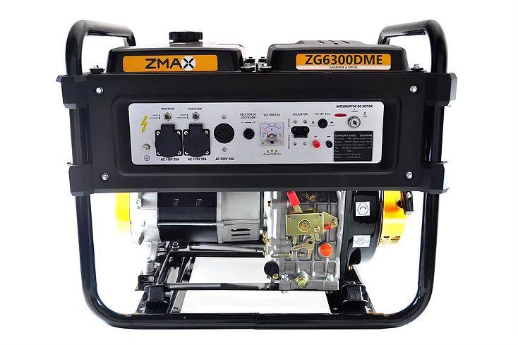 Gerador a Diesel ZG6300DME - ZMAX