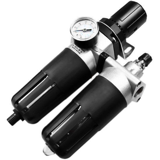 Filtro Regulador de Ar e Óleo Médio 1/2 - Pressure