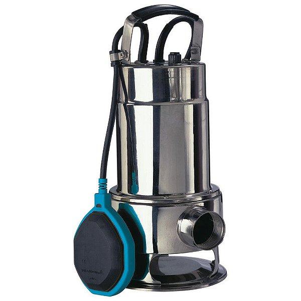 Bomba de Água Submersível 550W para Águas Sujas Inox - Gamma