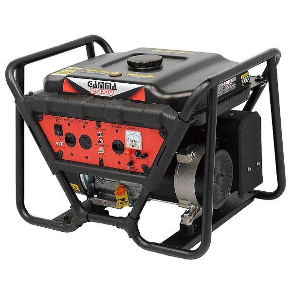 Gerador Monofásico a Gasolina 2500W - Gamma