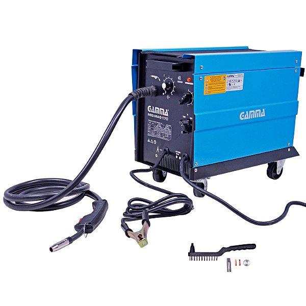 Máquina de Solda Mig-Mag 170 com Gás - Gamma