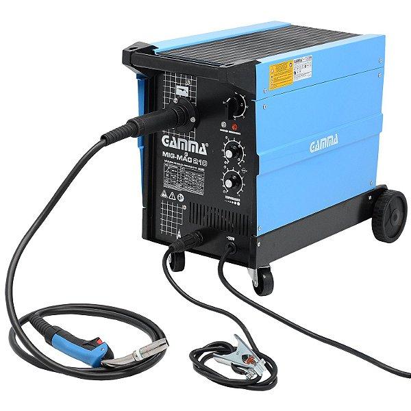 Máquina de Solda Mig-Mag 210 com Gás - Gamma
