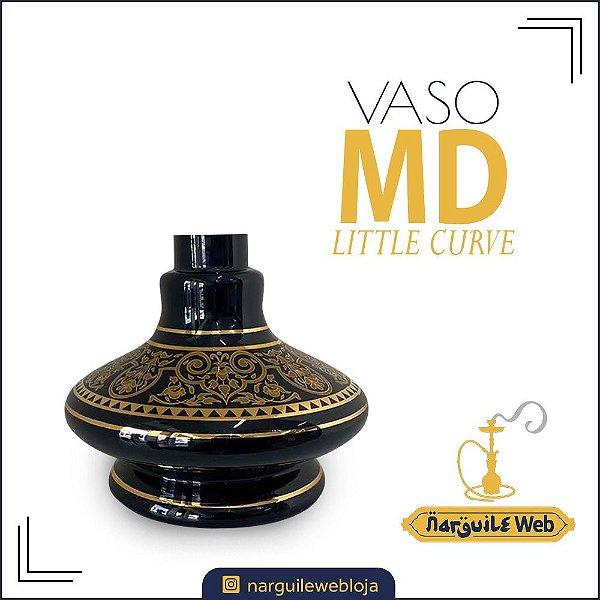 VASO MD 33 B LITTLE CURVE PRETO