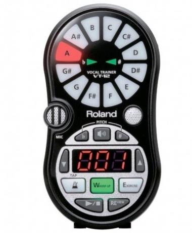 Afinador Roland Cromático VT-12