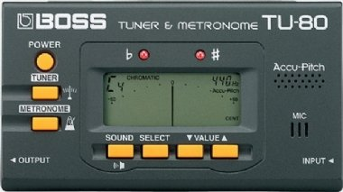 Afinador Metrônomo Boss TU-80
