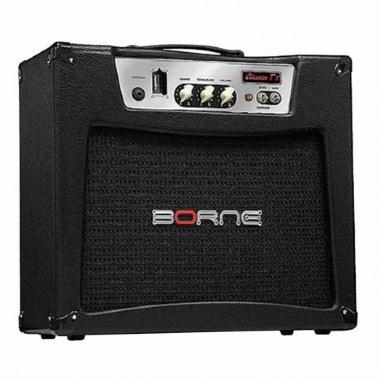 Amplificador Guitarra Borne Valvulado Clássico T7 BK 07W