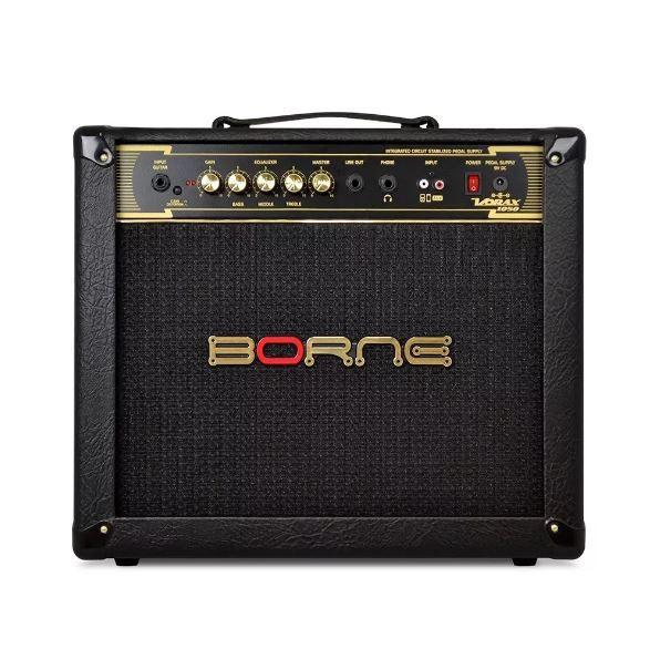Amplificador Guitarra Borne Vorax 1050 BK 50W