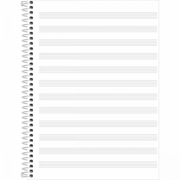Caderno de Música Capa Dura São Domingos