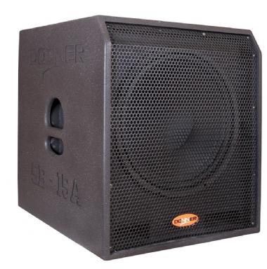 "Caixa Subwoofer 15"" Passiva LL Audio Donner SB15P 400W"