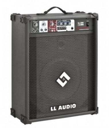 "Caixa Amplificada 12"" LL Áudio 200USB 50W"