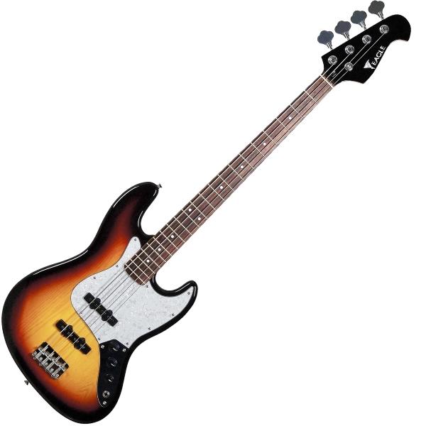 Contrabaixo 4 Cordas Eagle Jazz Bass SJB005 SB Passivo