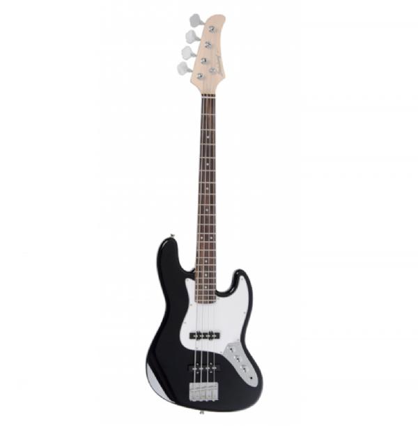 Contrabaixo 4 Cordas Strinberg Jazz Bass JBS40 BK Passivo