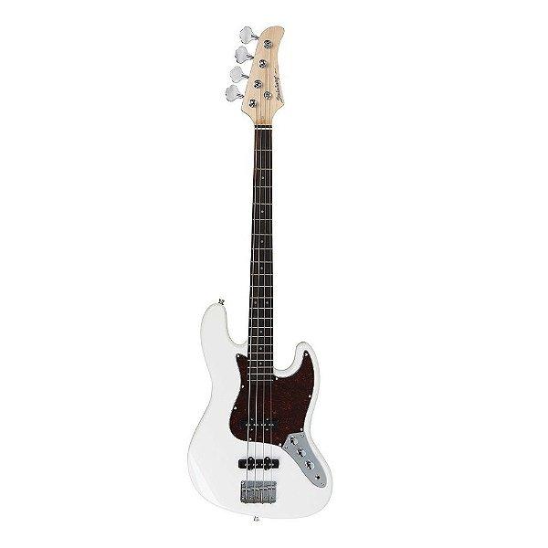 Contrabaixo 4 Cordas Strinberg Jazz Bass JBS40 WH Passivo