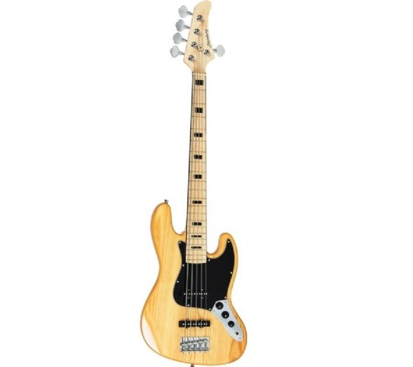 Contrabaixo 5 Cordas Strinberg Jazz Bass JBS55 NA Passivo