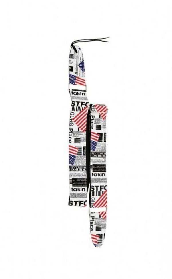 Correia 5 cm PHX Couro Sintético American Flag PH07