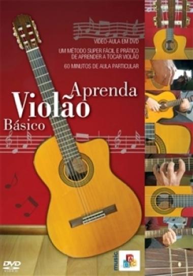 DVD Aula Aprenda Violão Básico