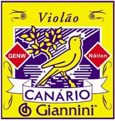 Encordoamento Avulso Violão Nylon Giannini Canário GENW4 4ª Ré