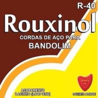 Encordoamento Bandolim .010 Rouxinol R-40