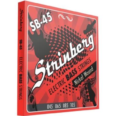 Encordoamento Contrabaixo 4 Cordas .045 Strinberg SB45