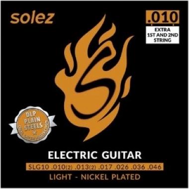 Encordoamento Guitarra .010 Solez Light SLG10