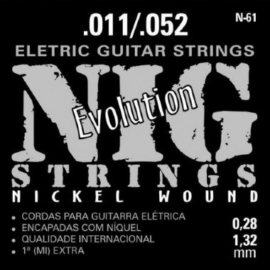 Encordoamento Guitarra .011 NIG N-61