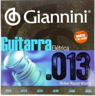 Encordoamento Guitarra .013 Giannini GEEGST13