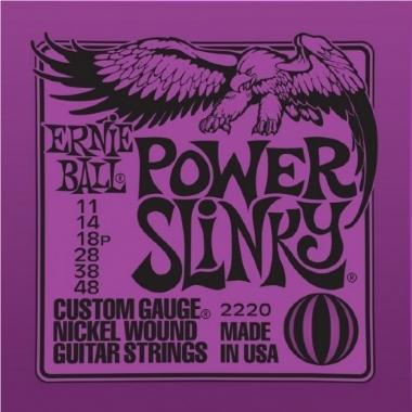 Encordoamento Guitarra Power Slinky .011 Ernie Ball 2220