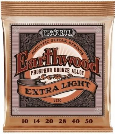 Encordoamento Violão Aço .010 Erniel Ball Extra Light 2006