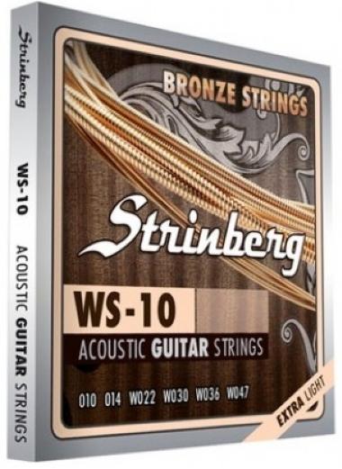 Encordoamento Violão Aço .010 Strinberg Extra Light WS-10