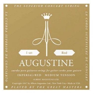 Encordoamento Violão Nylon Augustine Imperial Red .028 Tensão Média