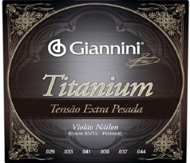 Encordoamento Violão Nylon Giannini .029 Tensão Extra Pesada