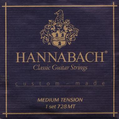Encordoamento Violão Nylon Hannabach .028 Tensão Média 728MT