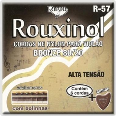 Encordoamento Violão Nylon Rouxinol .029 Tensão Alta R-57