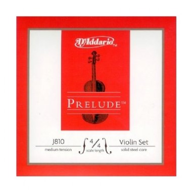 Encordoamento Violino 4/4 D'Addario Prelude Tensão Média J810