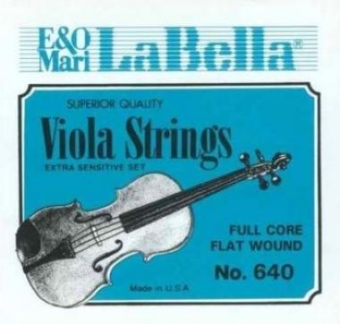 Encordoamento Violino 4/4 La Bella Extra Sensitive 640
