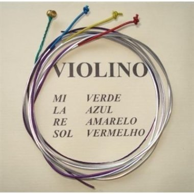 Encordoamento Violino 4/4 M. Calixto