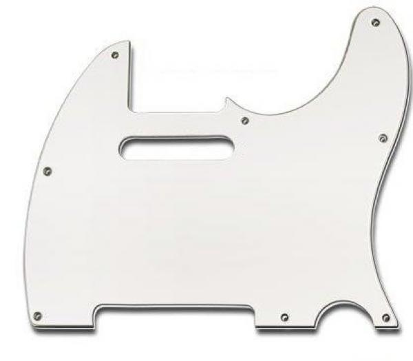 Escudo para Guitarra Telecaster Sonotec PKG TL Branco