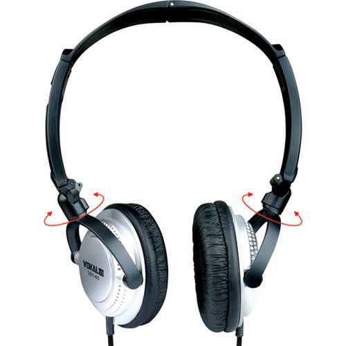 Headphone Vokal VH-40 Prata