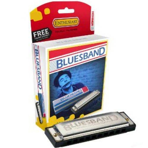 Gaita Diatônica Hohner Blues Band 559/20 C Dó