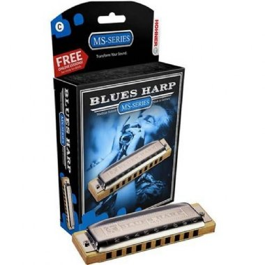 Gaita Diatônica Hohner Blues Harp MS 532/20 C Dó