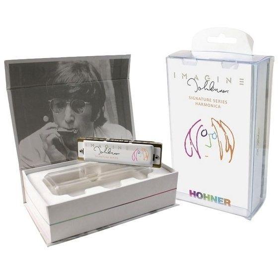 Gaita Diatônica Hohner John Lennon Series C Dó