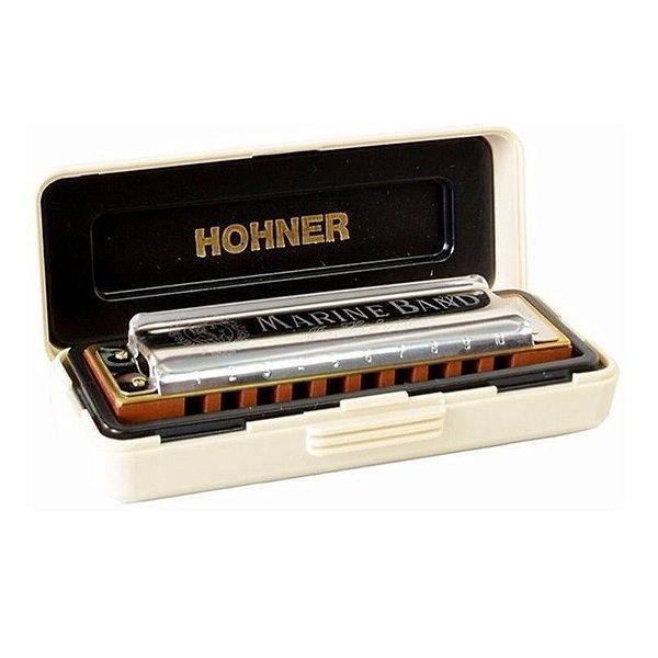 Gaita Diatônica Hohner Marine Band 1896/20 E Mi